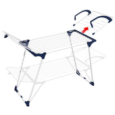 Сушилник за дрехи  тип пеперуда Duplo-image