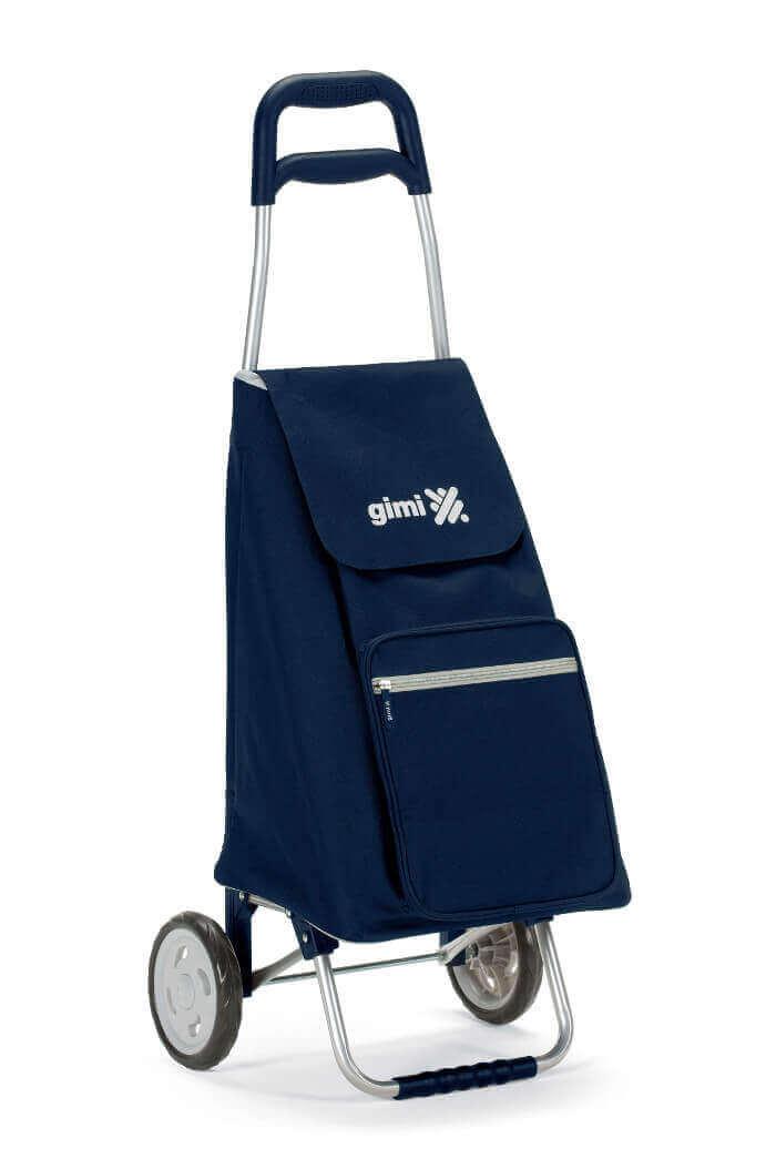 Чанта за пазаруване с рамка и колела-image